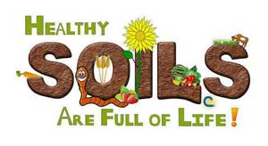 Healthy Soils are full of life.